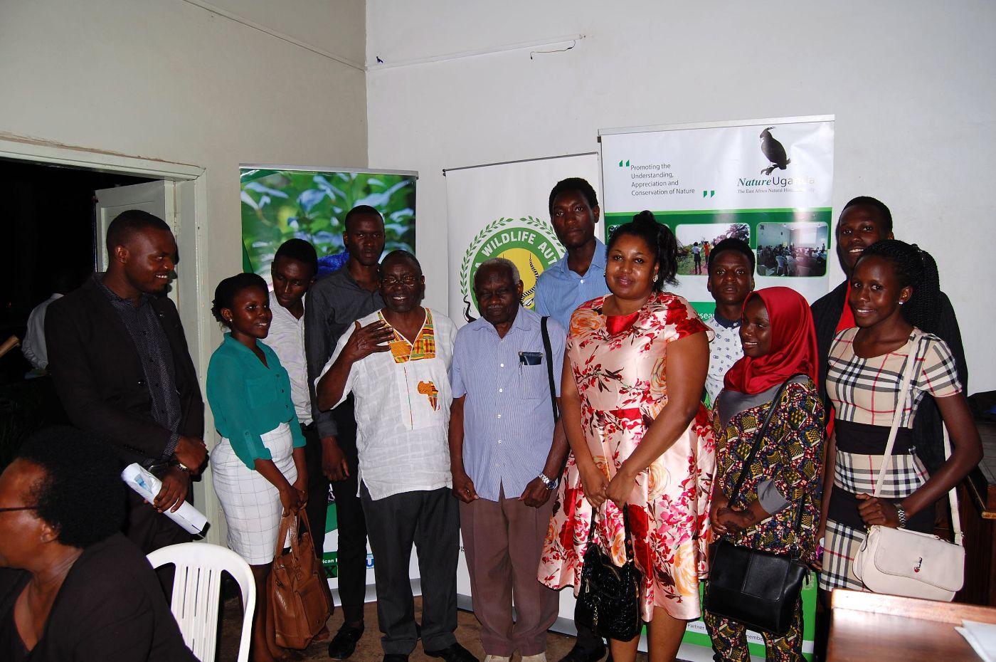 A group Photo of NatureUganda members at the BBD 2017 launch