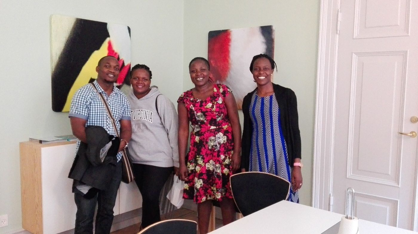 NatureUganda representatives in Denmark