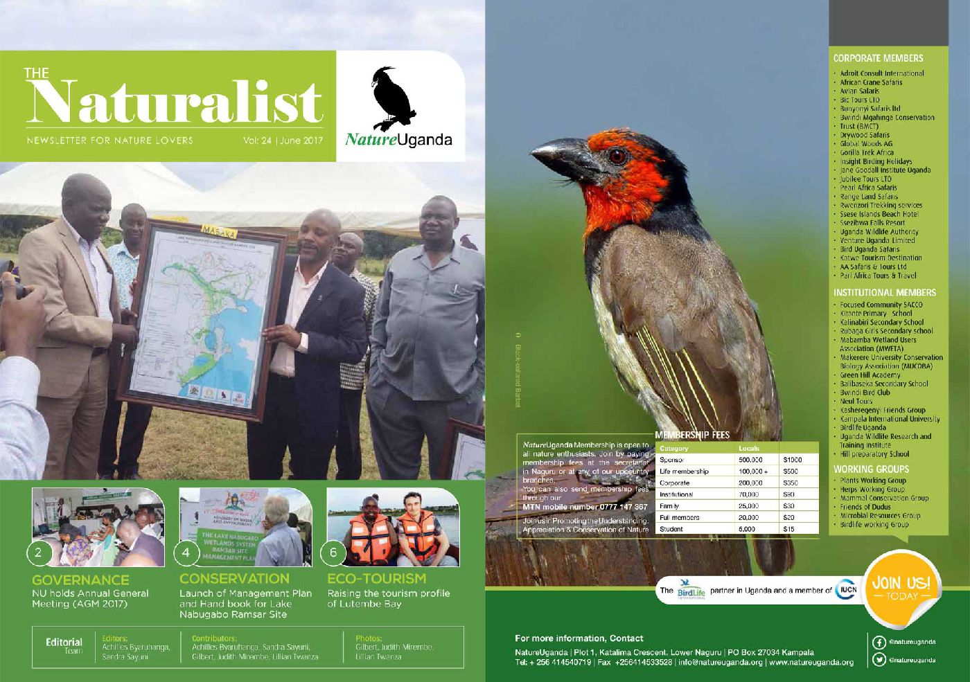 Naturalist June 2017